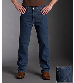 Levi's® Men's Red Tab™ 505™ Regular Straight Leg Jeans - Dark Stonewash