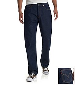 Levi's® Men's Red Tab™ 505™ Regular Straight-Leg Jeans - Rinse