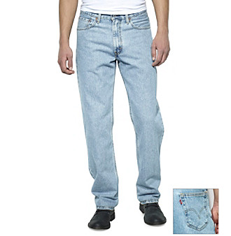 Levi's® Men's Red Tab™ 550™ Relaxed Jeans - Light Stonewash