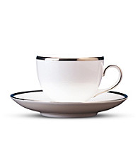 Wedgwood® Sterling Teacup, Leigh