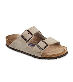 birkenstock arizona blue leather ottoman