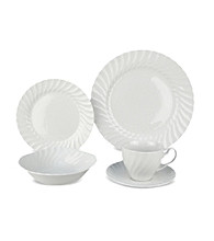 Johnson Brothers Regency White 20-Piece Dinnerware Set