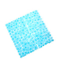 InterDesign® Blumz Bath Mat - Blue