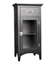 Elegant Home Fashions® Madison Avenue Floor Cabinet with Drawer - Dark Espresso