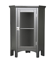 Elegant Home Fashions® Madison Avenue Corner Floor Cabinet - Dark Espresso