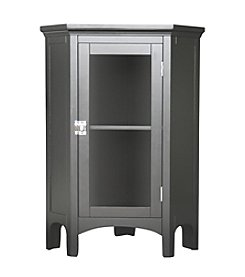 Elegant Home Fashions® Madison Avenue Corner Floor Cabinet - Dark Espresso