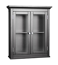 Elegant Home Fashions® Madison Avenue 2-Door Wall Cabinet - Dark Espresso