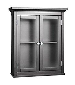 Elegant Home Fashions® Madison Avenue 2-Door Wall Cabinet - Dark Espresso