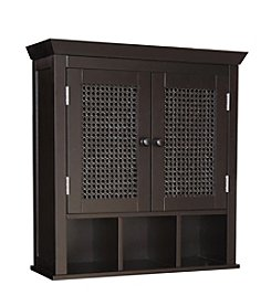 Elegant Home Fashions® Savannah 2-Door Wall Cabinet with Cubbies