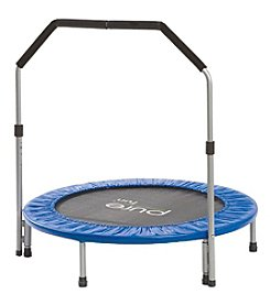 Pure Fun® 40 Inch Rebounder Trampoline with Handrail