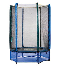 Pure Fun 55 Inch Trampoline with Enclosure Kids Set