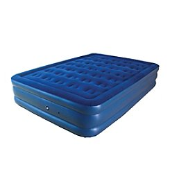 Pure Comfort Raised Flock Top Queen Air Mattress