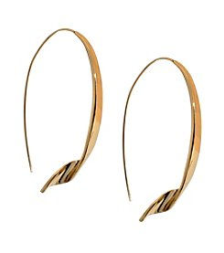Kenneth Cole® Goldtone Horseshoe Shaped Earrings