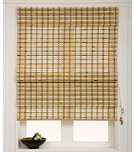 Epic Primrose Bamboo Roman Shade by Chicology®