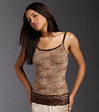 Flexees® Fat Free Dressing™ Lace Trimmed Tank