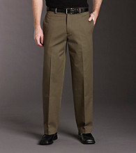 Izod® Men's Classic Fit Flat Front Madison No-Iron Pant