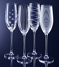 Mikasa® Cheers Barware Set of 4 Flutes