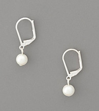 Lauren Ralph Lauren 8mm White Pearl Drop Earrings