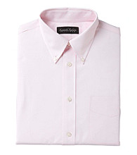 Kenneth Roberts Platinum® Men's Pinpoint Oxford Dress Shirt - Pink