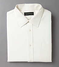 Kenneth Roberts Platinum® Men's Luxury Twill Dress Shirt - Cream