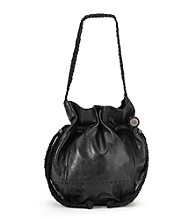 The Sak® Indio Leather Drawstring