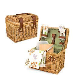 Picnic Time® Napa-Botanica Willow Basket Service for 2