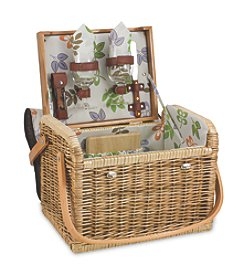 Picnic Time® Kabrio Willow Basket Service for Two