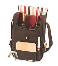 Picnic Time Duet 2-Bottle Wine & Cheese Tote