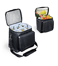Picnic Time Cellar 6-Bottle Insulated Wine Tote