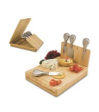 Picnic Time Asiago Folding Cheese Board