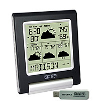 La Crosse Technology® Weather Direct® Lite Internet-Powered 4-Day Wireless Forecaster