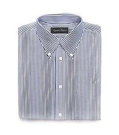 Kenneth Roberts Platinum® Broadcloth Bengal Dress Shirt - Dark Blue