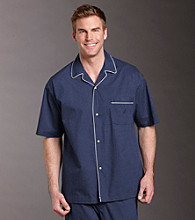Nautica® Men's Pajama Sleep Shirt - Dot Peacoat