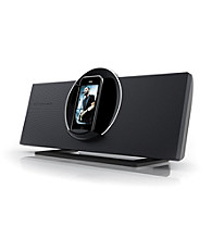 Coby® CSMP175 Vitruvian™ Speaker System with Rotating Docking Station for iPod®