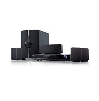 Coby® DVD968 5.1 Channel DVD Home Theater System with 1080p Upconversion