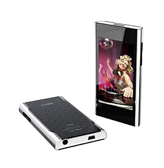 "Coby® MP826 8GB 2.8"" Wide Touchscreen Video MP3 Player"