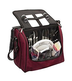 Fox Run Craftsmen® 4-Person Burgundy Picnic Cooler