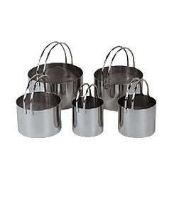 Fox Run Craftsmen® Set of 5 Stainless Steel Cookie Cutters