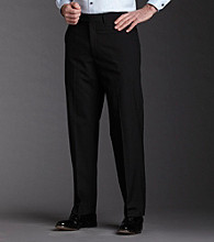 Kenneth Cole REACTION® Men's Black Straight Fit Mini Stripe Pant