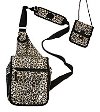 Heys® Exotic Travel Mate Shoulder Bag-Leopard