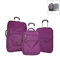 Heys® Fuse X3 3-pc. Ultra Light Hybrid Luggage Set