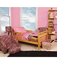 Sweet Safari 4-pc. Toddler Bedding Set by Trend Lab - Pink