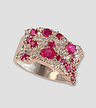 Effy® Ruby and Diamond Ring - 1.19 ct. t.w.