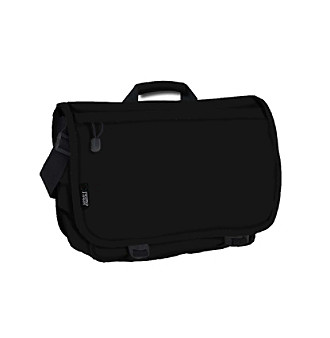J World Laptop Messenger in Black