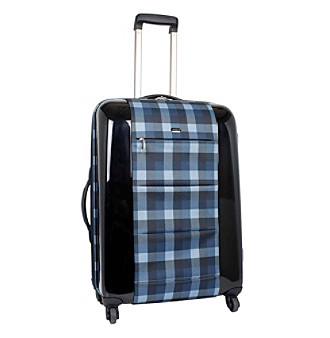 "J World 21"" Expandable Carry-On PC Luggage with Pocket"