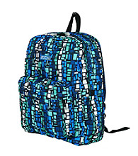J World Campus Backpack in Squares Blue