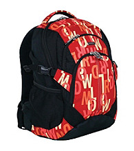 J World Bio-Health Cool Mat Backpack in Signature Red