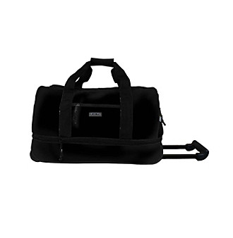 "J World 22"" Expandable Rolling Duffel in Black"