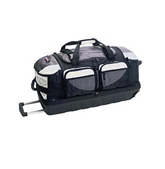"J World Super Light 31"" Ballistic Rolling Duffel"