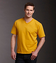Ruff Hewn Men's Sueded V-Neck Tee